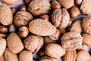 Nuts, whole nuts, mixed nuts, essential fats, ALA