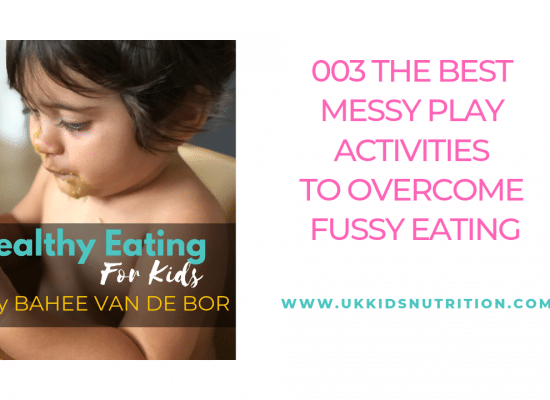 The best messy play activities to overcome fussy eating