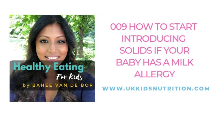 How To Start Introducing Solids If Your Baby Has A Milk Allergy