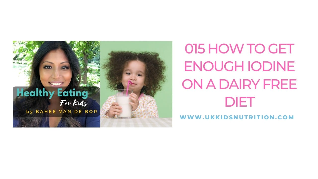 How to get enough iodine on a dairy free diet