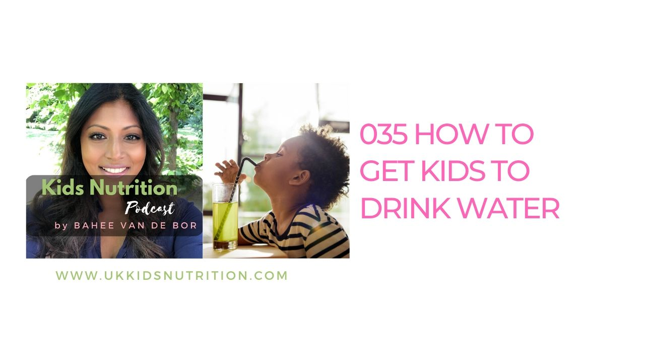 HOW to get kids to drink water