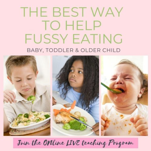 the best way to help fussy eating baby, toddler and older child