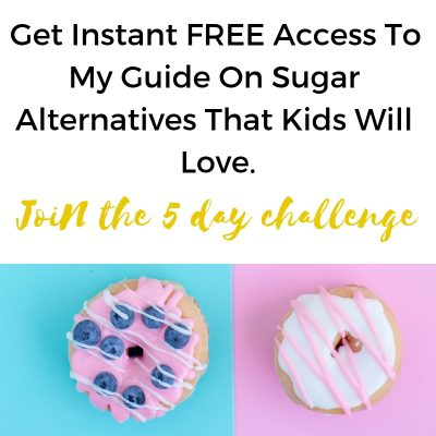 no added sugar guide for kids
